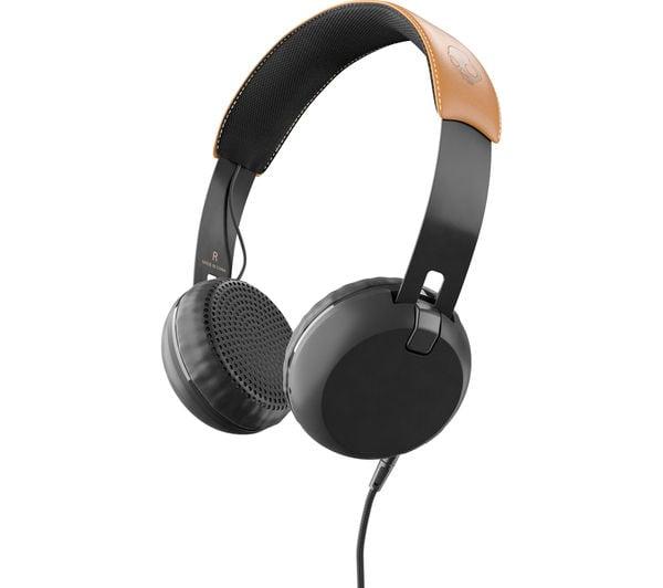 אוזניות קשת עם מיקרופון Skullcandy GRIND Black