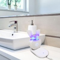 מברשת שיניים U חשמלית מסתובבת 360 למבוגרים