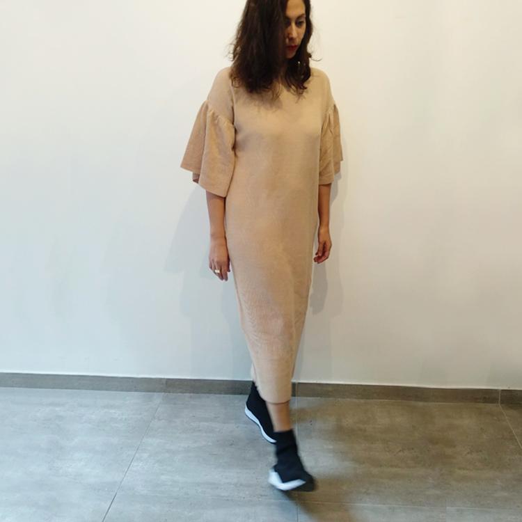שמלת קארי סריג (סוודר) ניוד