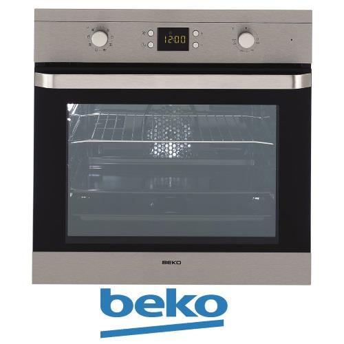 תנור בנוי beko נירוסטה 8 תוכניות טורבו  OIM22300X