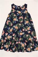 שמלת וולן הדפס אננס