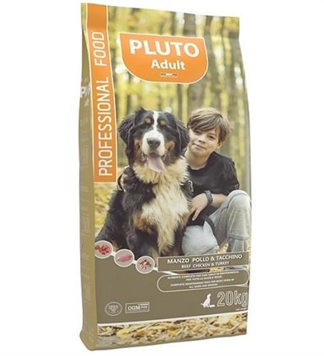 פלוטו מזון לכלב בשר עוף והודו 20 ק״ג