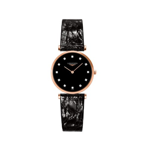 שעון Longines La Grande Classique Diamond Alligator 29mm