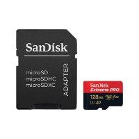 כרטיס זיכרון סנדיסק SanDisk Extreme Pro 128GB Micro SD SDSQXCY-128G