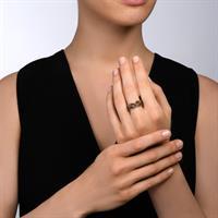 טבעת קלועה ספארי