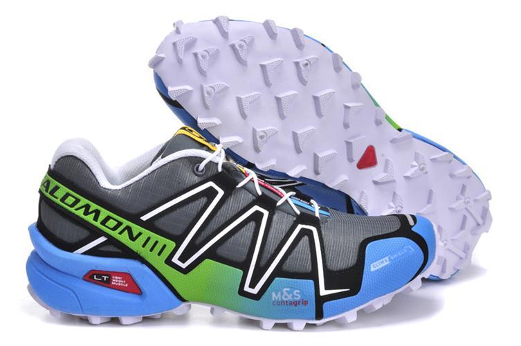 נעלי ריצה Salomon Speed Cross III לנשים תכלת ירוק מידות 36-41