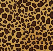 Tiger Leather Texture Mat