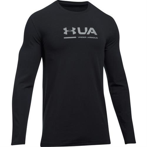 חולצה אנדר ארמור שרוול ארוך לגבר 1297974-001 Under Armour men's Shift Center long sleeve