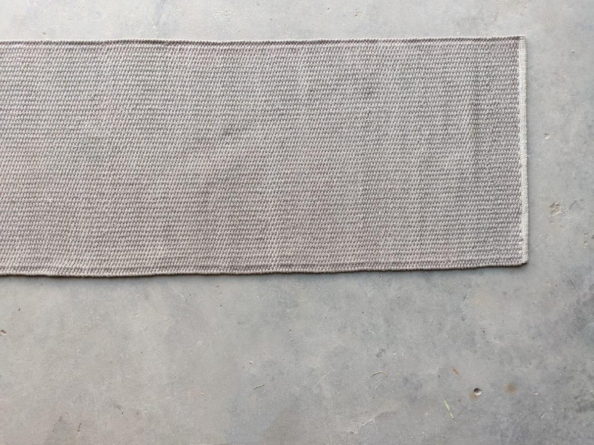 שטיח כותנה  ארוך מאד - אבן
