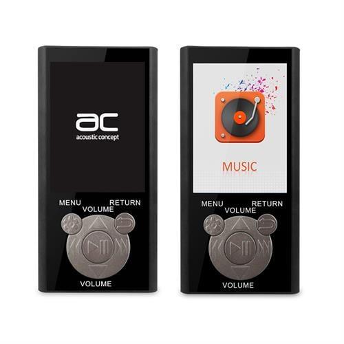 נגן MP3 עם Bluetooth, רדיו FM, זיכרון מובנה 8GB ותפריט בעברית AC-241FM
