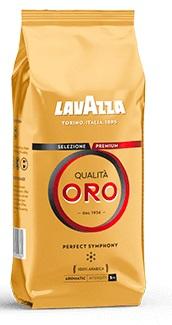 קפה לוואצה אורו איכותי - Lavazza Qualita Oro Beans 1 kg