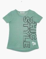 חולצה בנות טריקו מעוצבת STYLE&CHIC