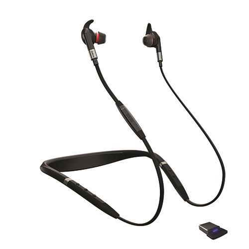 אוזניות אלחוטיות  Jabra Evolve 75e MS LINK  ג'אברה