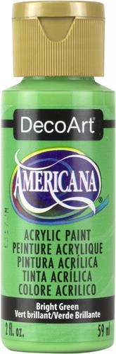"""צבע אמריקנה 59 מ""""ל Bright Green DAO54"""