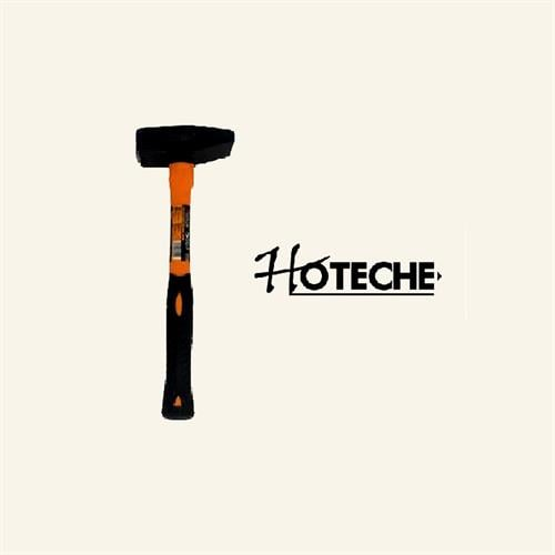 """פטיש מקצועי 1 ק""""ג ידית פיבר מבית חברת HOTECHE"""