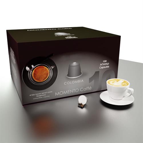 Espressomor קולומביה תואם נספרסו 100 יחידות