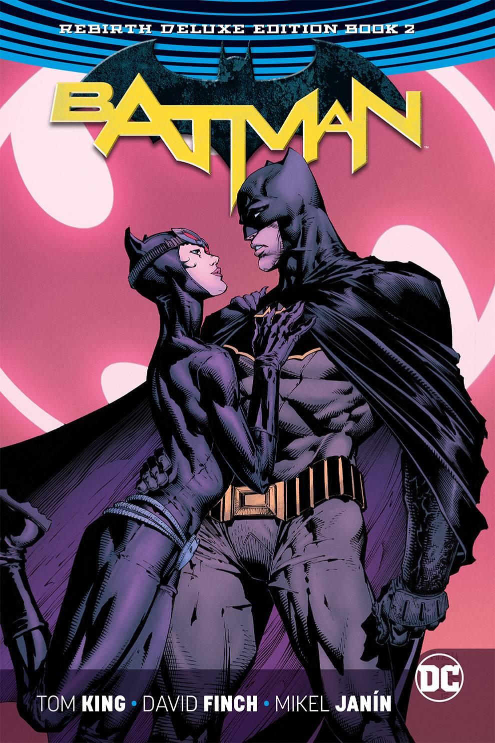 Batman Rebirth Deluxe Hard Cover Book 2