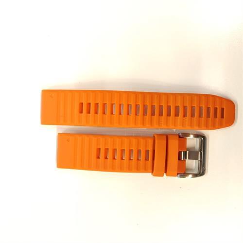 רצועה כתומה מקורית לשעון Garmin Fenix 6 QuickFit 22 Watch Bands
