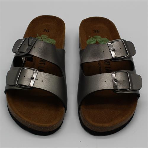 נעלי נוחות שתי רצועות ברונזה
