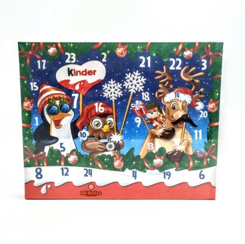 Advent Calendar Kinder החברים של סנטה