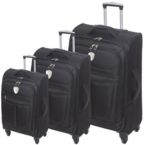 סט 3 מזוודות איכותיות