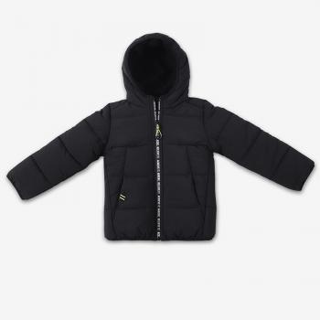 מעיל שחור פוך