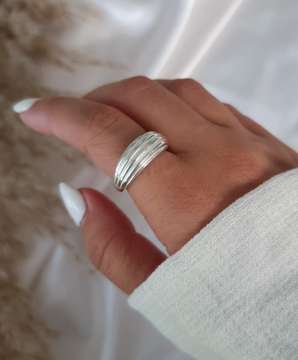 טבעת כסף מיילי