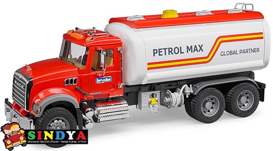 משאית מכלית דלק MACK  02827 – BRUDER