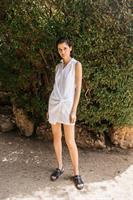 שמלת אלכסה לבן