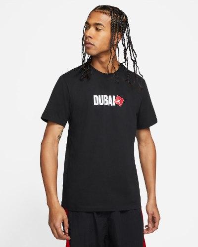 טי שרט JORDAN DUBAI שחור