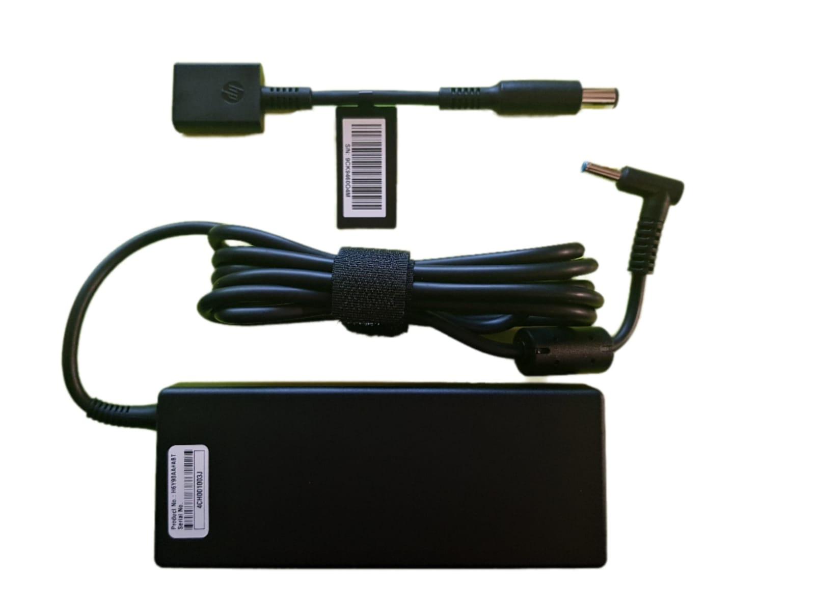 מטען למחשב נייד HP COMPAQ 90W 18.5V 4.5A