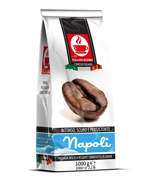 """תערובת פולי קפה נאפולי - 1 ק""""ג"""