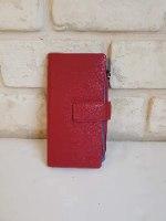 ארנק דמוי עור אדום 4071