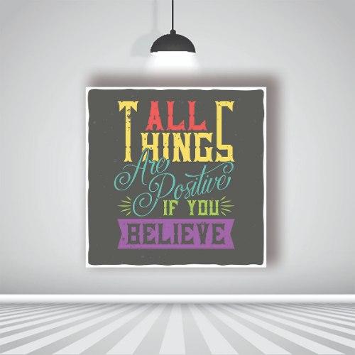 אם תאמין הכל לטובה