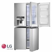 LG מקרר 4 דלתות Door In Door + קיוסק דגם: GR-J710DID