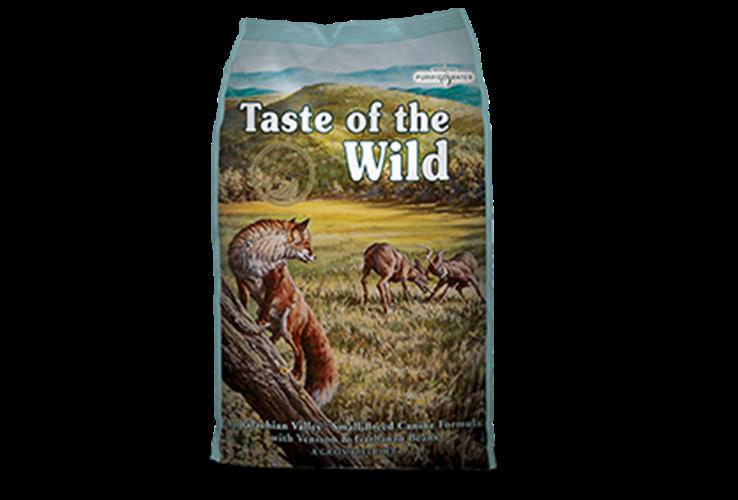 """Taste Of The Wild צבי גזע קטן 2.2 ק""""ג"""
