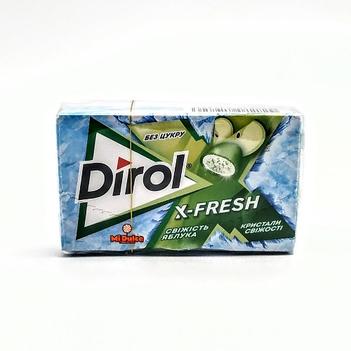 Dirol בטעם תפוח ירוק