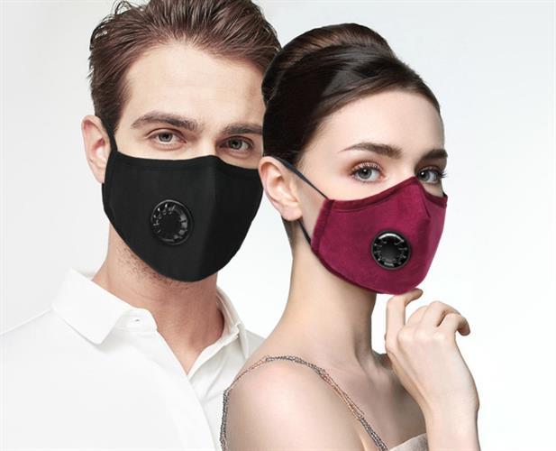 מסכת פנים נאנו טק חדשנית OxyBreath Pro עם סינון פחם להגנה מקסימלית