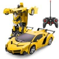 מכונית על שלט רובוט