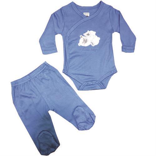חליפת חזייה דובים - כחול