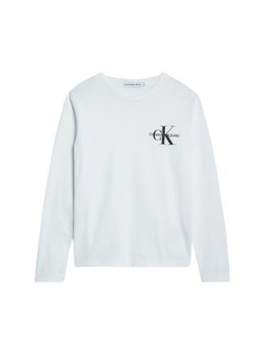 טישירט CK לוגו קטן לבן