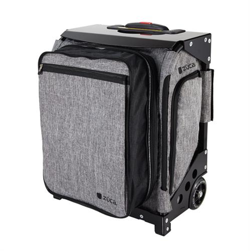 מזוודה על גלגלים 40 ליטר zuka +נרתיקים פנימיים
