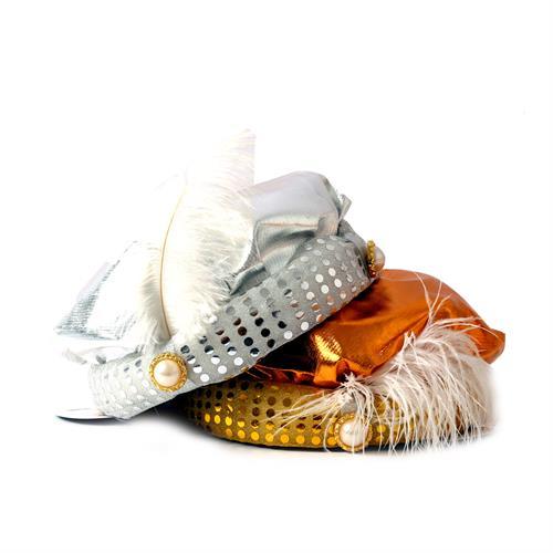 כובע מרדכי היהודי ילדים זהב/כסף