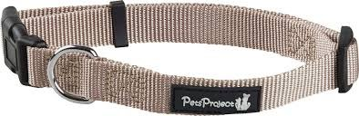 קולר פט פרוג'קט עם קליפס לכלב קטן מידה אקסטרה סמול PET PROJECT