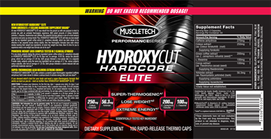 הידרוקסיקאט שורף שומן |Hydroxycut, Hardcore Elite, Rapid-Release Thermo Caps