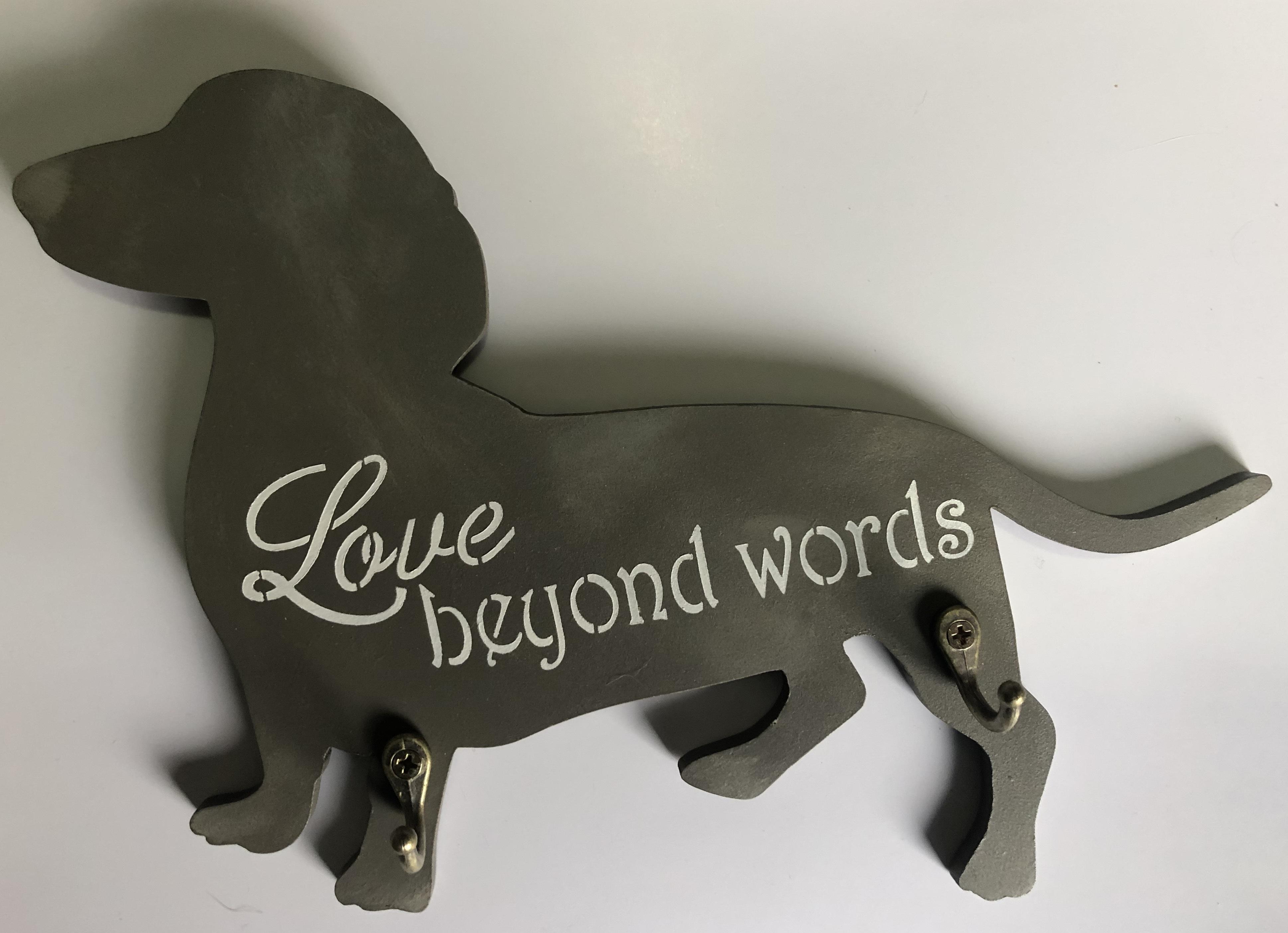 מחזיק מפתחות בצורת כלב נקניק