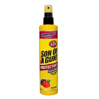 """מגן סקאי 295 מ""""ל SUN OF A GUN של STP ריח תות/אוכמניות"""