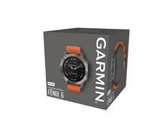 Garmin Fenix 6 Sapphire Ti / Orange