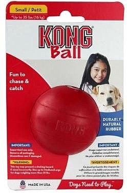קונג KONG כדור קלאסיק אדום S