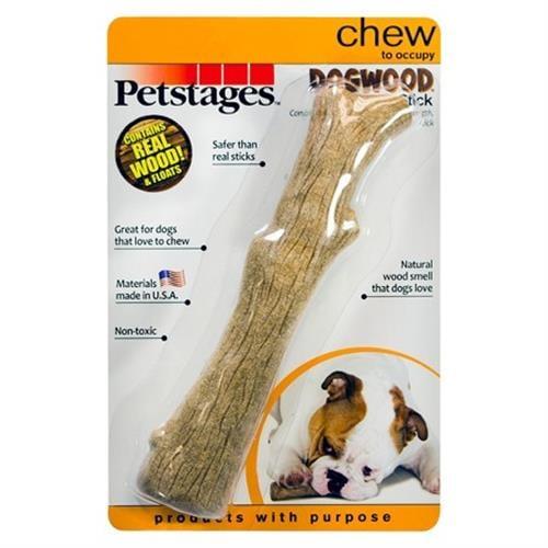 "מקל XS עץ טבעי, Petstages ארה""ב"